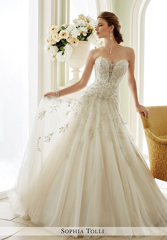 Sophia Tolli Y21670 Venezia A-Line Wedding Dress