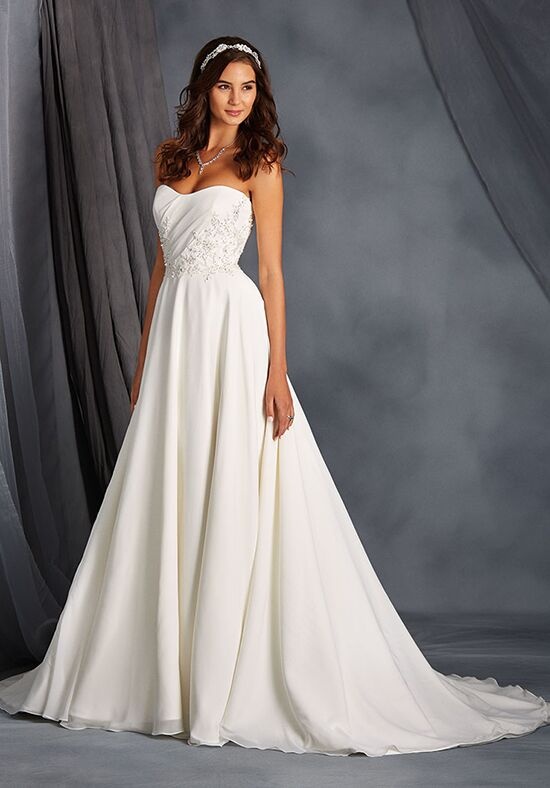 Alfred Angelo Signature Bridal Collection 2562 A-Line Wedding Dress