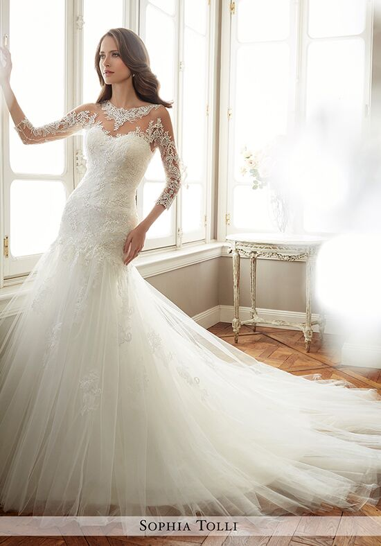 Sophia Tolli Y11720 Felicity Mermaid Wedding Dress