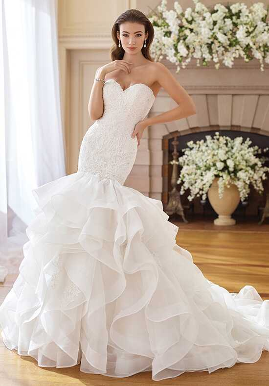 David Tutera for Mon Cheri 217227 Inez Mermaid Wedding Dress