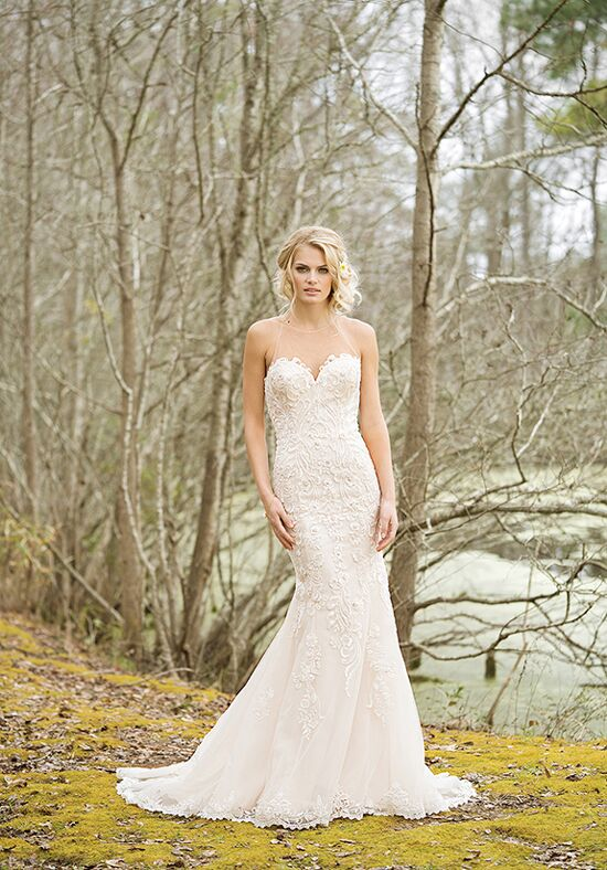 Lillian West 6456 A-Line Wedding Dress