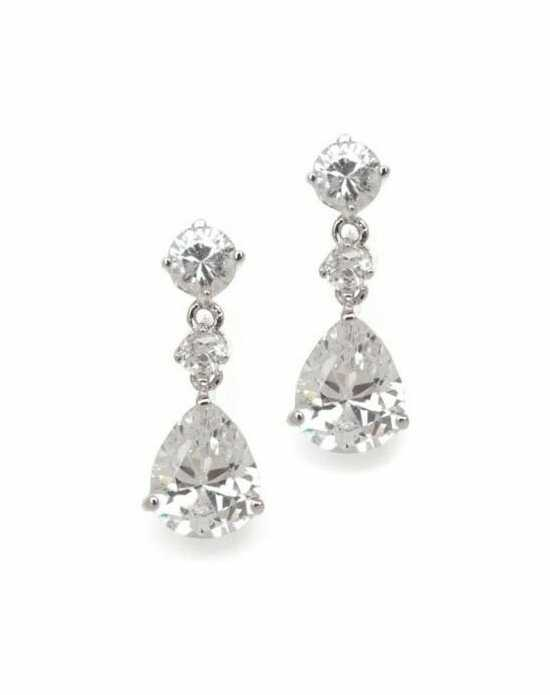 Anna Bellagio CAITLYN CUBIC ZIRCONIA EARRINGS Wedding Earring photo