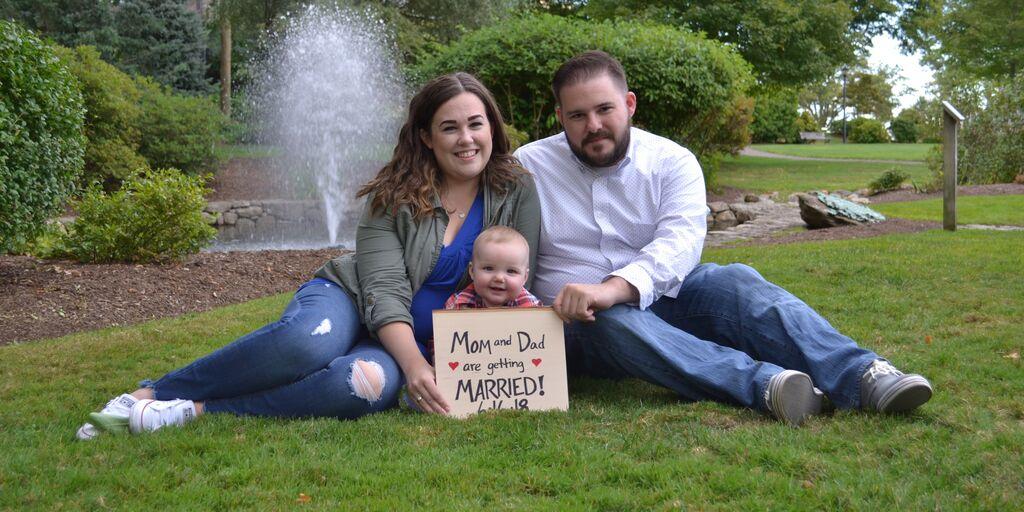 amanda marx and michael aimolas wedding website