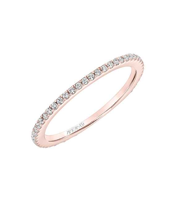 ArtCarved 33-V9201R Gold, Rose Gold, White Gold Wedding Ring