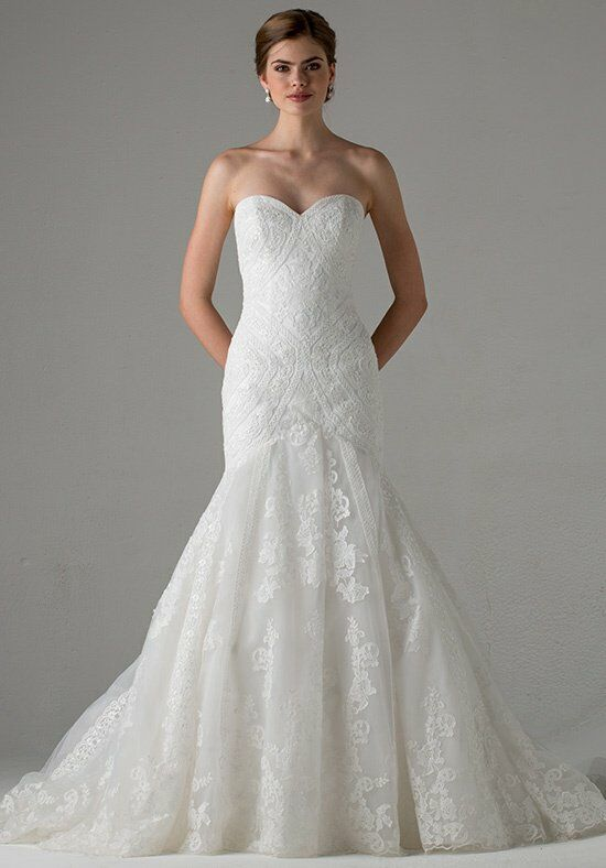 Blue Willow Bride By Anne Barge Taylor Mermaid Wedding Dress