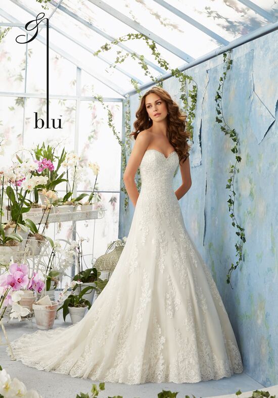 Morilee by Madeline Gardner/Blu 5404 A-Line Wedding Dress
