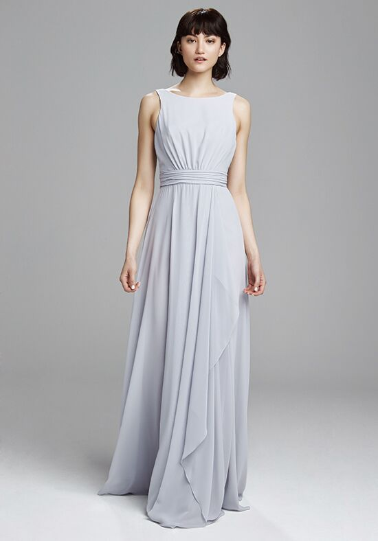 Amsale Bridesmaids Rory Bateau Bridesmaid Dress