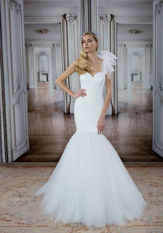 LOVE by Pnina Tornai for Kleinfeld 14492 Mermaid Wedding Dress