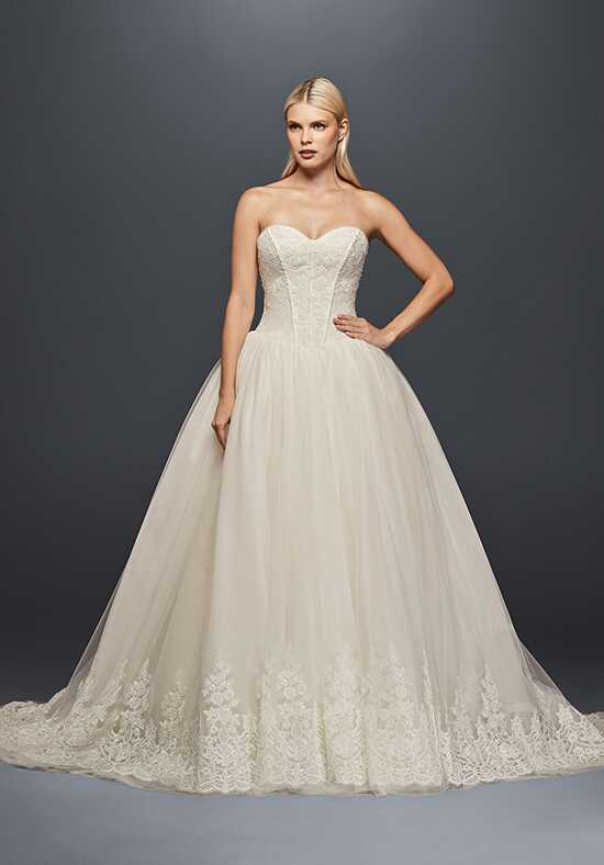 Truly Zac Posen at David's Bridal Truly Zac Posen Style ZP341709 Ball Gown Wedding Dress