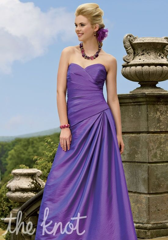 Jordan 146 Strapless Bridesmaid Dress