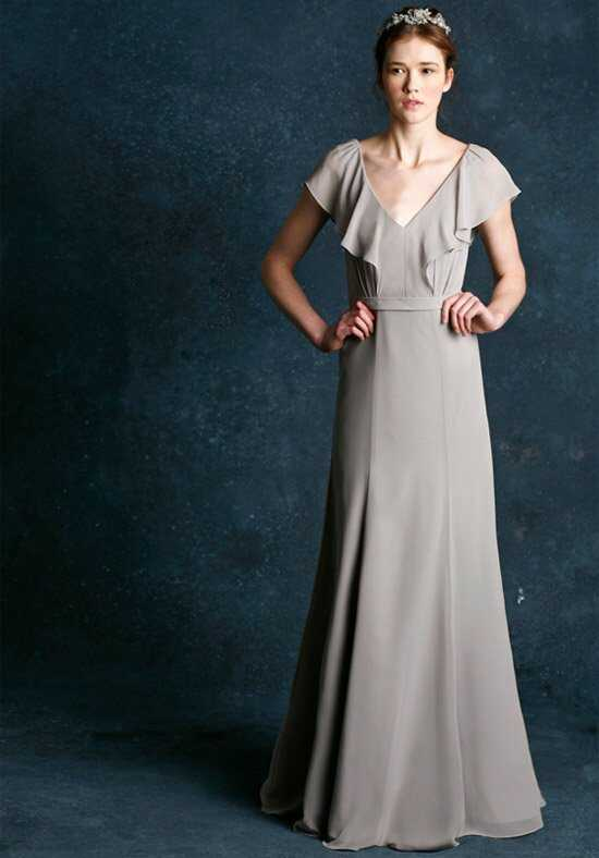 Jenny Yoo Collection (Maids) Cecilia-1384 V-Neck Bridesmaid Dress