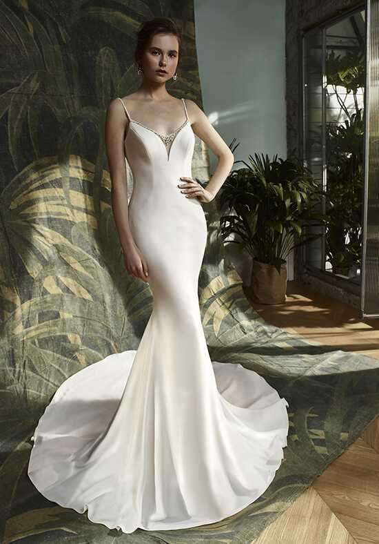 Blue by Enzoani Kathleen Mermaid Wedding Dress