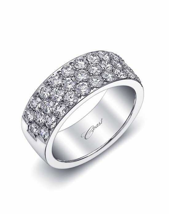 Coast Diamond Wedding Bands - WS10004 White Gold Wedding Ring