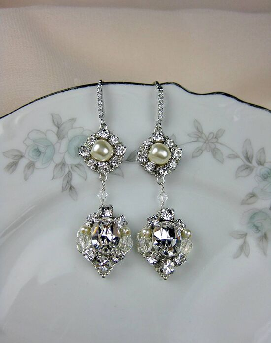 Everything Angelic Eva Earrings - e358 Wedding Earrings photo