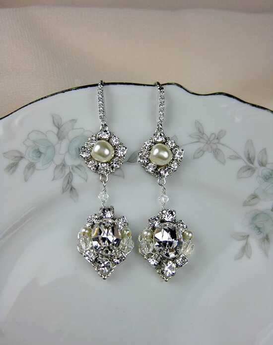 Everything Angelic Eva Earrings - e358 Wedding Earring photo