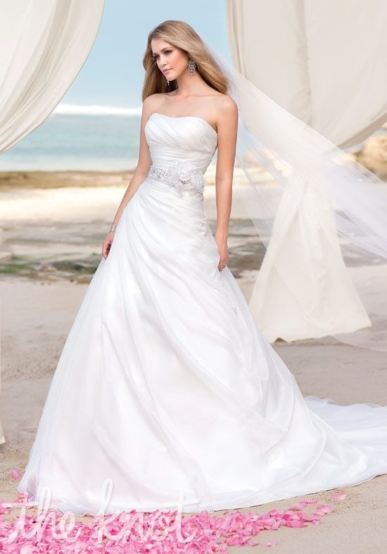 Ella Bridals 5615 A-Line Wedding Dress