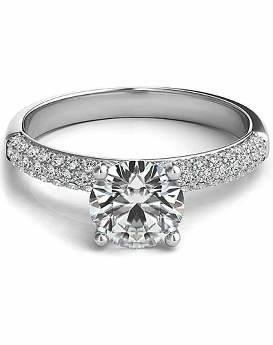 Since1910 Elegant Round Cut Engagement Ring