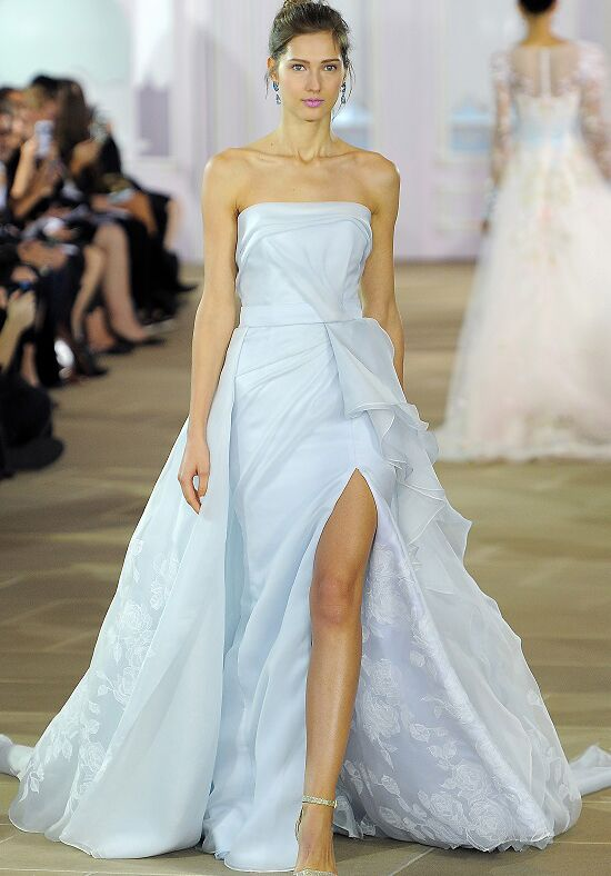 Ines Di Santo Azure Sheath Wedding Dress