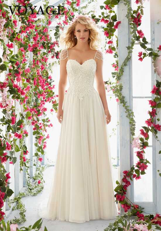 Morilee by Madeline Gardner/Voyage 6816 A-Line Wedding Dress