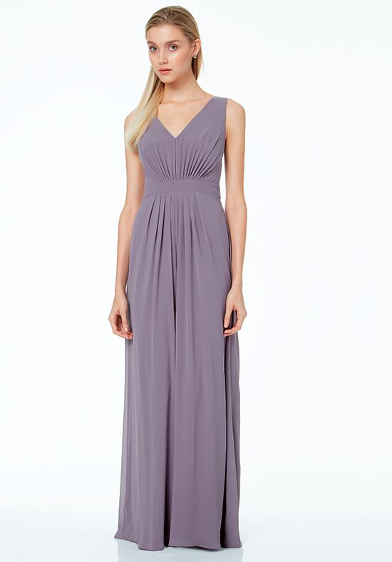 #LEVKOFF 7033 V-Neck Bridesmaid Dress