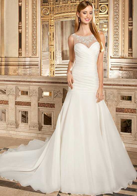Demetrios 3222 Mermaid Wedding Dress