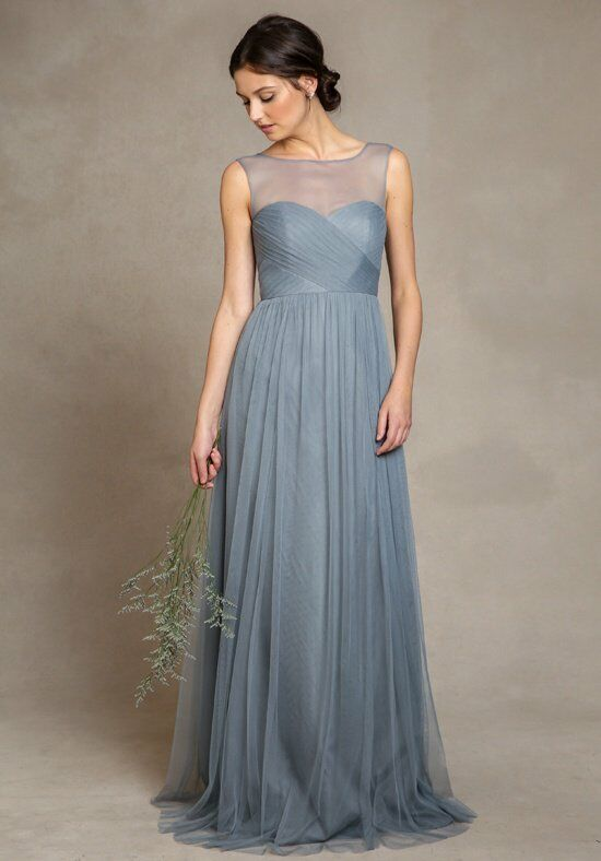 Jenny Yoo Collection (Maids) Aria 1558 Bateau Bridesmaid Dress