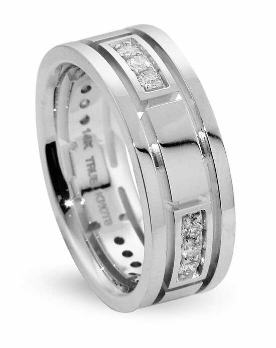 TRUE KNOTS True Man - DW307 Palladium,Platinum,White Gold Wedding Ring
