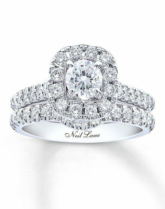 Neil Lane Cut Engagement Ring