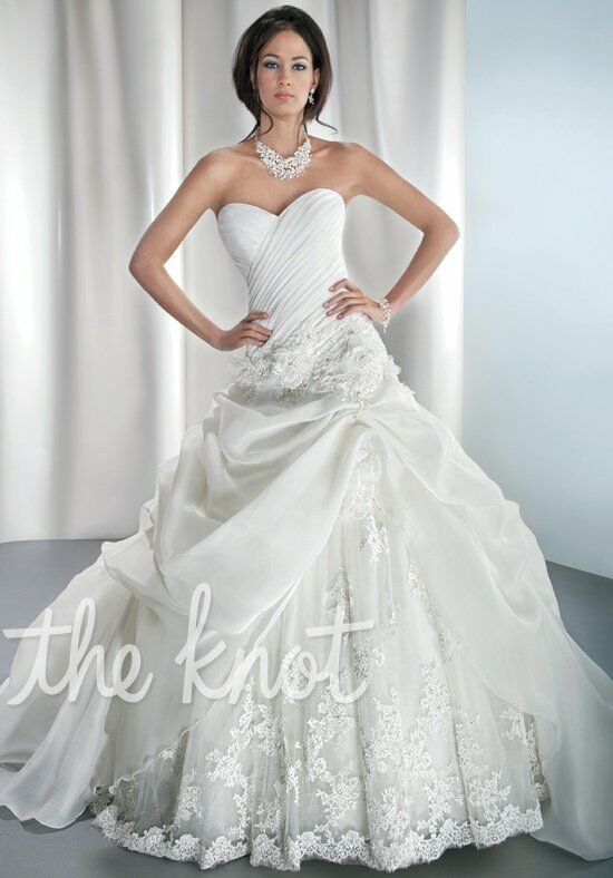 Demetrios 4313 A-Line Wedding Dress