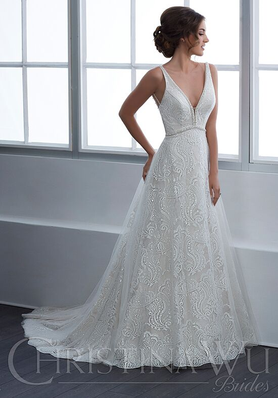 Christina Wu 15647 A-Line Wedding Dress