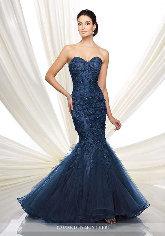Ivonne D. 216D41 Blue Mother Of The Bride Dress