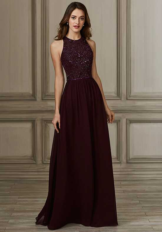 Adrianna Papell Platinum 40146 Bateau Bridesmaid Dress