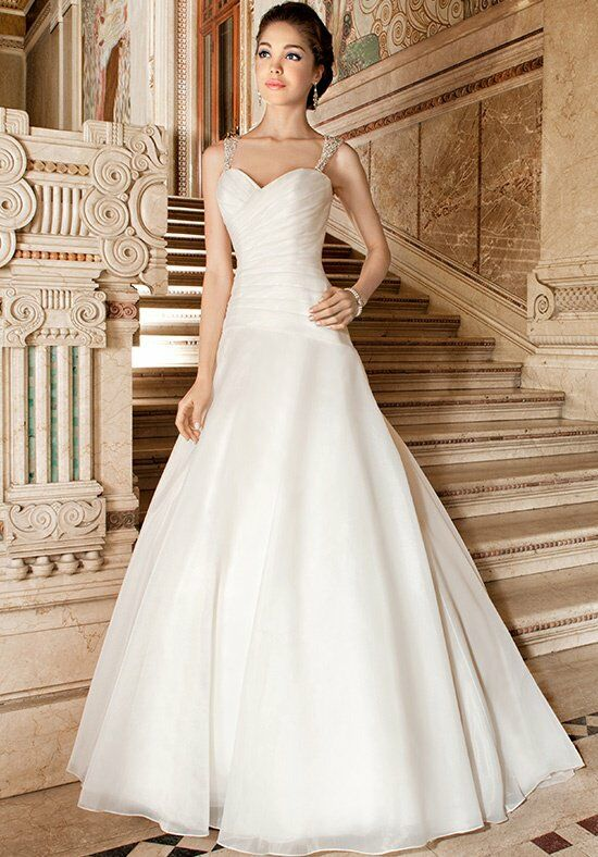 Demetrios 3217 A-Line Wedding Dress