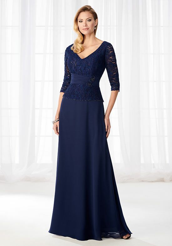 Cameron Blake 218623 Blue Mother Of The Bride Dress