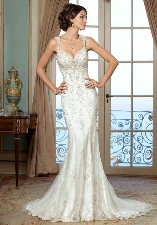 KITTYCHEN Couture EVELYN, H1418 Sheath Wedding Dress