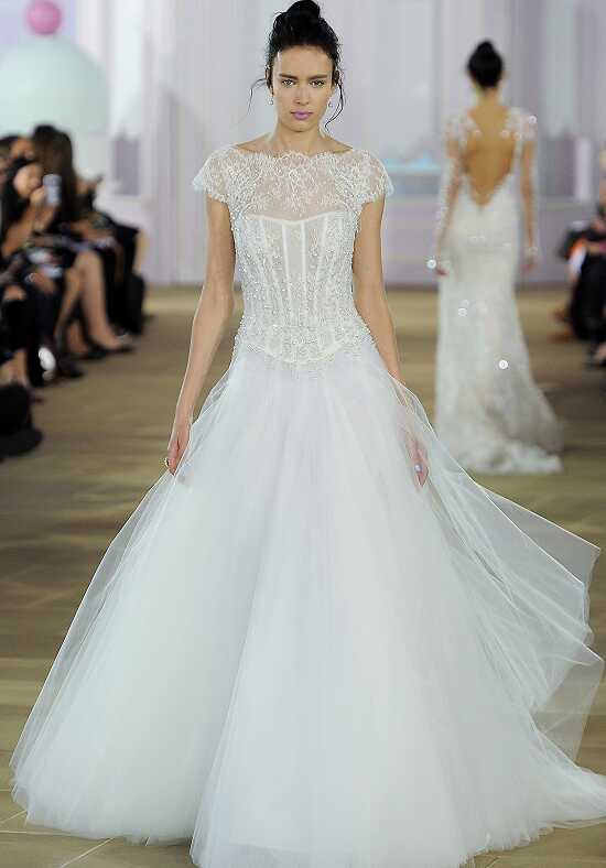 Ines Di Santo Tuile A-Line Wedding Dress