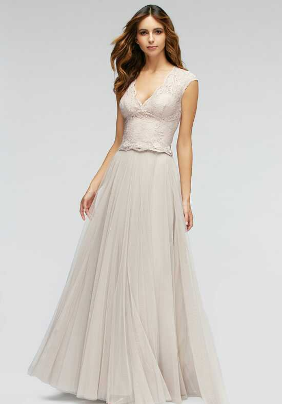 Watters Maids Jonquil Top 80201 / Lotus Skirt 80302 V-Neck Bridesmaid Dress