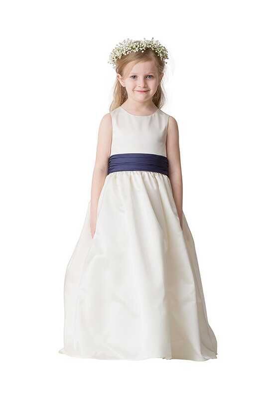 Bari Jay Flower Girls F5216 Blue Flower Girl Dress