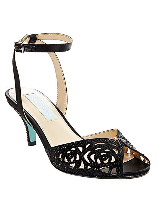 Blue by Betsey Johnson SB-RAVEN-black Black Shoe