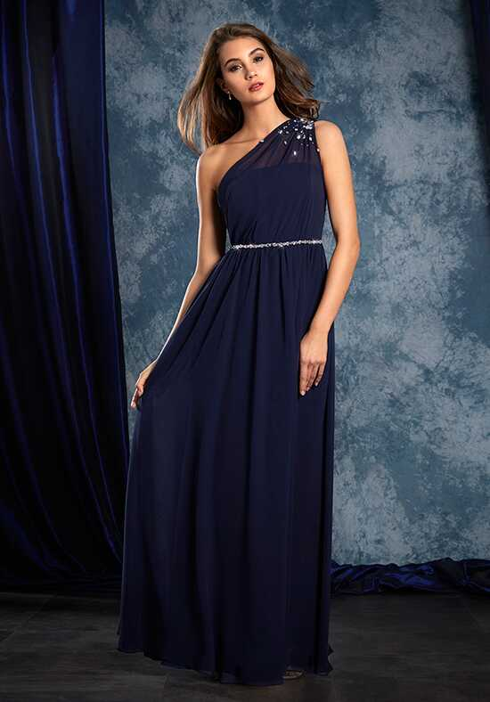 Alfred Angelo Sapphire Bridesmaid Collection 8109L One Shoulder Bridesmaid Dress