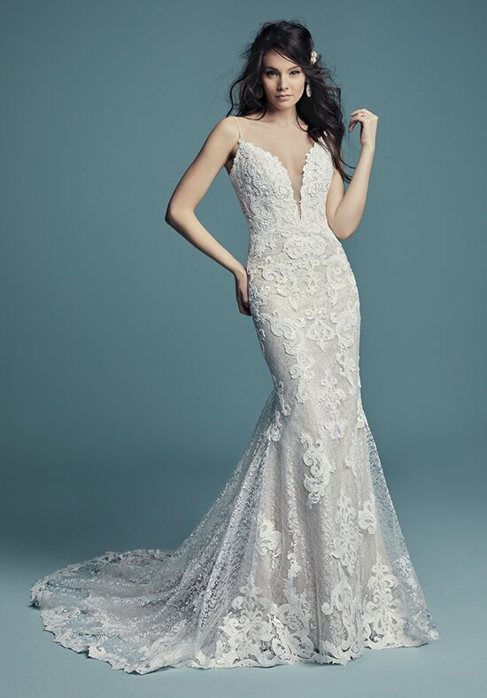 Maggie Sottero Tuscany Sheath Wedding Dress