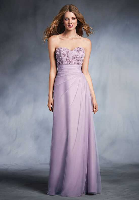 Alfred Angelo Disney Royal Maidens Collection 545 Strapless Bridesmaid Dress