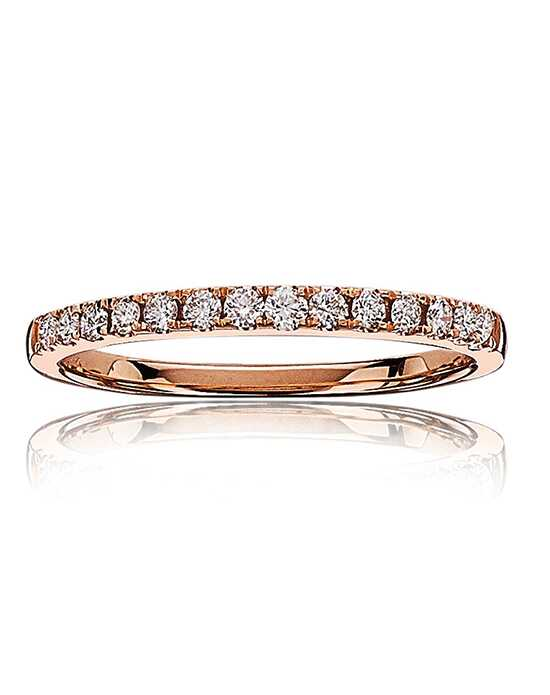 Rogers & Hollands® 6839814 Gold, Rose Gold Wedding Ring