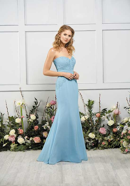 B2 by Jasmine B193054 Strapless Bridesmaid Dress