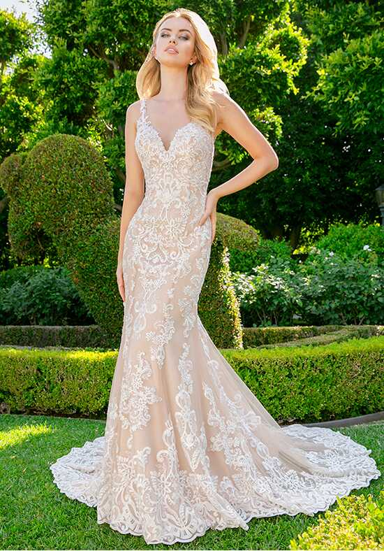 Moonlight Couture H1341 Mermaid Wedding Dress