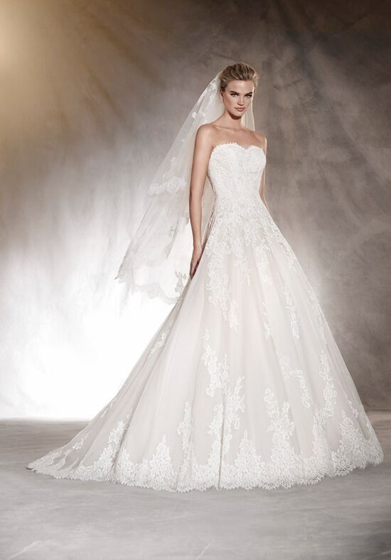 PRONOVIAS ALOHA A-Line Wedding Dress
