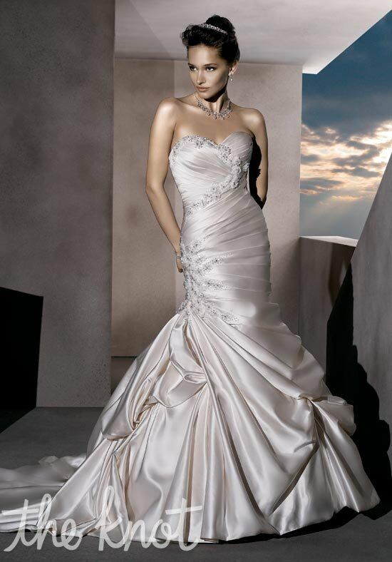 Demetrios 4293 Mermaid Wedding Dress