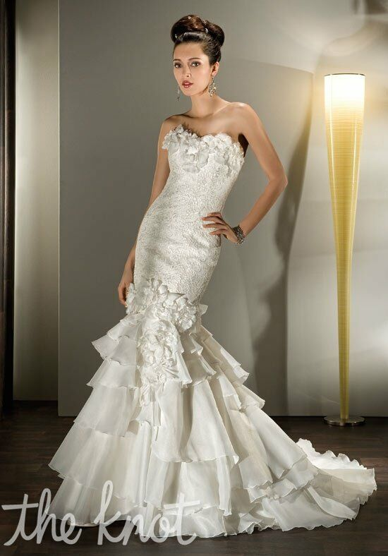 Demetrios 2854 Mermaid Wedding Dress