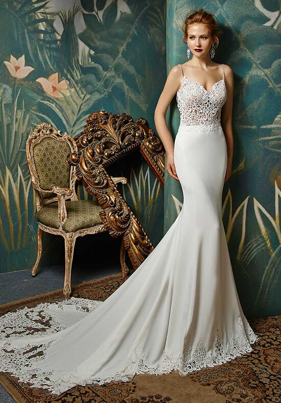 Blue by Enzoani Juri Mermaid Wedding Dress