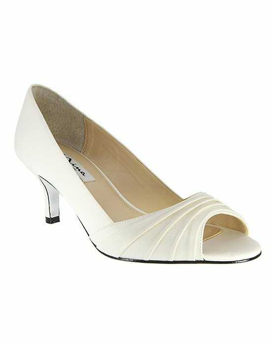 Nina Bridal Wedding Accessories CAROLYN_IVORY Ivory Shoe